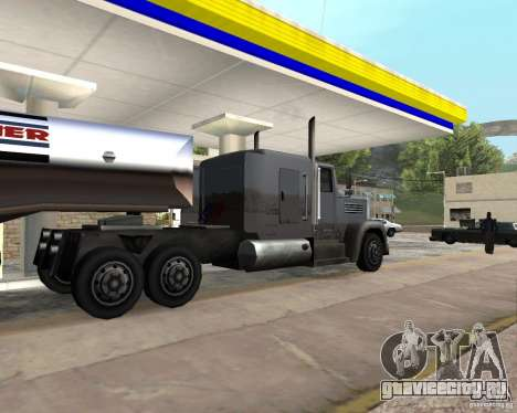 Packer Truck для GTA San Andreas вид слева