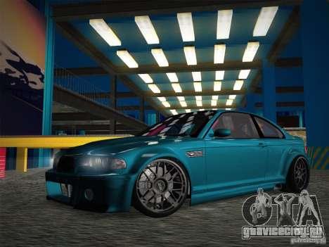 BMW E46 Drift II для GTA San Andreas вид сбоку