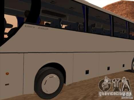 MAN Lions Coach для GTA San Andreas вид справа