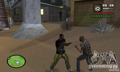 Monster energy suit pack для GTA San Andreas шестой скриншот