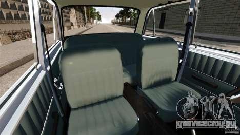 ВАЗ-2101 Stock для GTA 4 вид изнутри