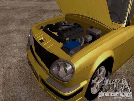 ГАЗ 31107 Волга для GTA San Andreas вид сзади
