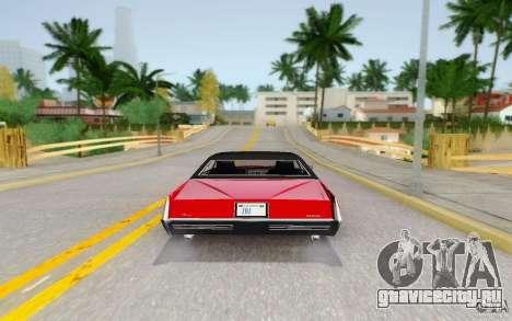Manana from GTA 4 для GTA San Andreas вид справа