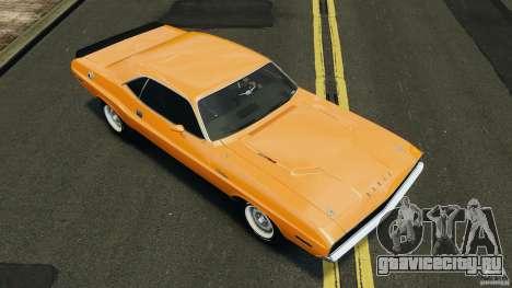 Dodge Challenger RT 1970 v2.0 для GTA 4