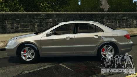 Honda Acura RL для GTA 4 вид слева