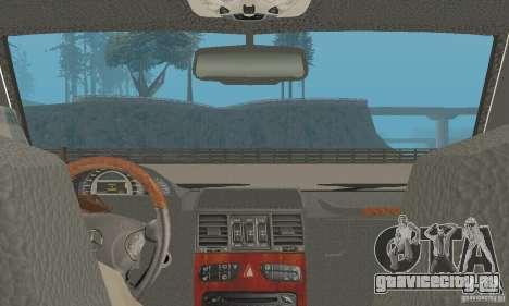 Mercedes-Benz G500 Zailer 2004 для GTA San Andreas вид сзади
