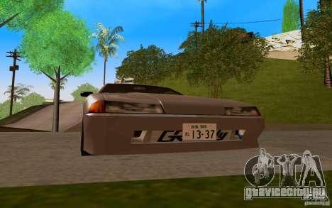 Новая Elegy для GTA San Andreas вид слева