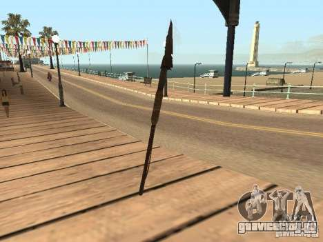 Копье для GTA San Andreas второй скриншот