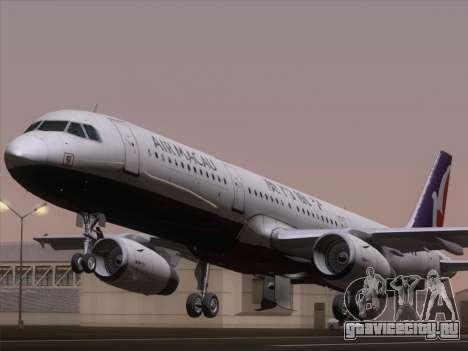 Airbus A321 Air Macau для GTA San Andreas