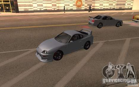 Toyota Supra Mark IV для GTA San Andreas вид справа