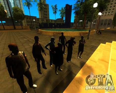 Обращение мэра к жителям штата для GTA San Andreas третий скриншот