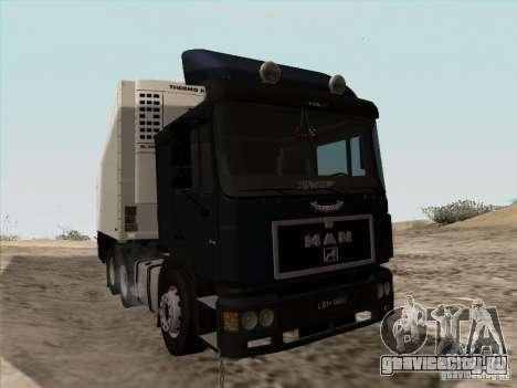 MAN F2000 6x4 для GTA San Andreas вид слева