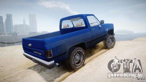 Chevrolet Blazer K5 Stock для GTA 4