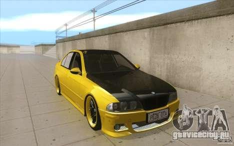 BMW M5 E39 - FnF4 для GTA San Andreas вид сзади
