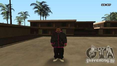Skin Pack Ballas для GTA San Andreas четвёртый скриншот