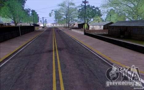 Сельская местность HQ для GTA San Andreas третий скриншот