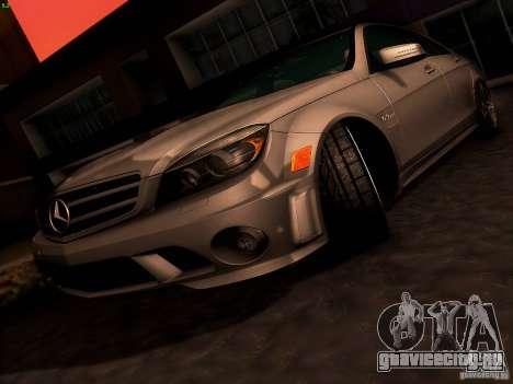 Mercedes-Benz C36 AMG для GTA San Andreas колёса