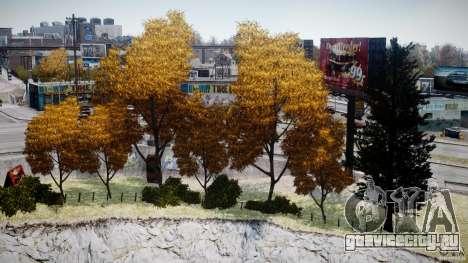 Realistic trees 1.2 для GTA 4 четвёртый скриншот