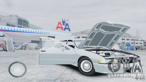 Chevrolet Caprice 1993 для GTA 4 вид сбоку
