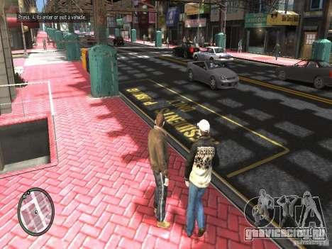 Road Textures (Pink Pavement version) для GTA 4