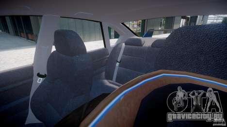 Subaru Legacy B4 GT для GTA 4 салон