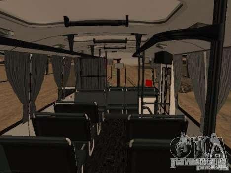 ПАЗ 32054 для GTA San Andreas вид снизу
