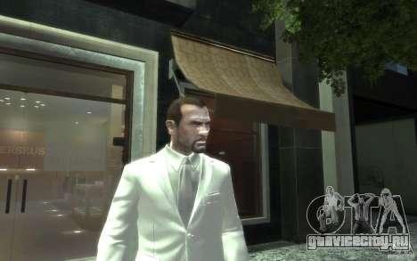 Отличный серо-белый костюм для GTA 4 третий скриншот