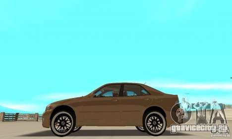 Lexus IS300 2005 для GTA San Andreas вид сзади слева