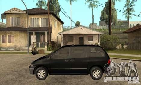 Dodge Caravan 1996 для GTA San Andreas вид слева