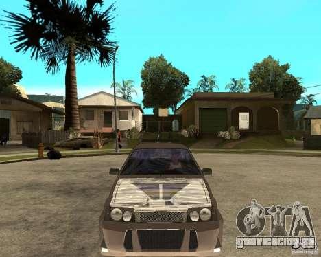 Ваз 21093 LiquiMoly для GTA San Andreas вид сзади