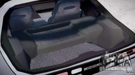 Nissan 300 ZX 1994 v1.0 для GTA 4 вид сверху