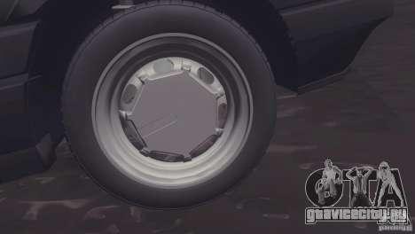 Volkswagen Passat B3 v2 для GTA San Andreas вид сзади слева