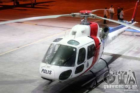 Eurocopter AS350 Ecureuil (Squirrel) Malaysia для GTA 4