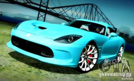 Dodge Viper SRT  GTS для GTA San Andreas