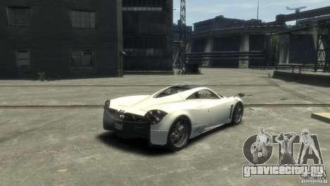 Pagani Huayra для GTA 4 вид слева