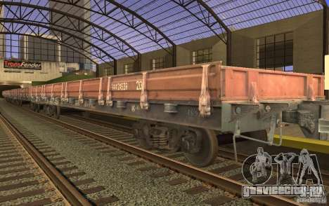 ЖД мод для GTA San Andreas десятый скриншот