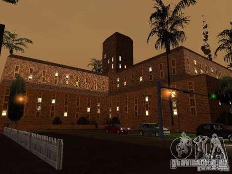 Новые текстуры госпиталя в Лос Сантосе для GTA San Andreas третий скриншот