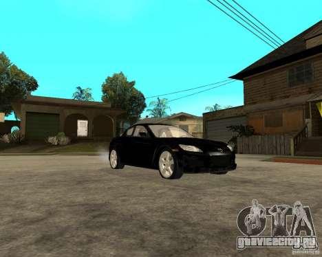 Mazda RX-8 для GTA San Andreas вид сзади
