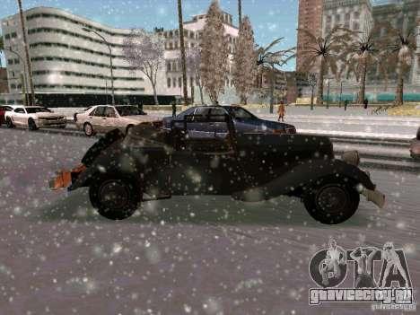 Авто из игры Саботаж для GTA San Andreas вид справа