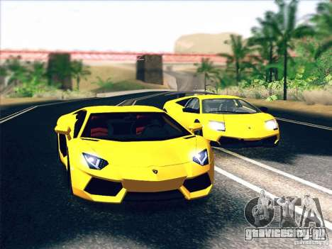 Lamborghini Aventador LP700-4 2011 V1.0 для GTA San Andreas колёса