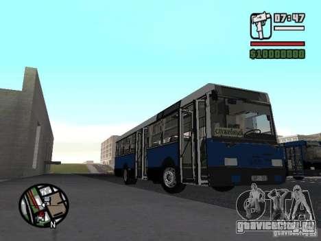 Ikarus 415.02 для GTA San Andreas вид сзади слева