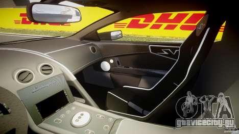 Lamborghini Murcielago LP670-4 SuperVeloce для GTA 4 вид изнутри