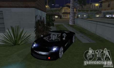 Xenon Lights (Ксеноновые Фары) для GTA San Andreas четвёртый скриншот