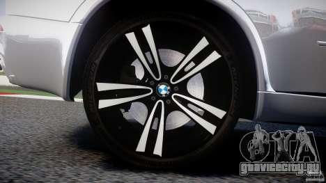 BMW X5M Chrome для GTA 4 двигатель