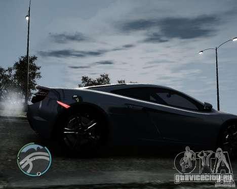 McLaren MP4-12C [EPM] 2011 для GTA 4 вид справа