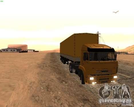 KamAZ 5460 Дальнобойщики 2 для GTA San Andreas вид слева