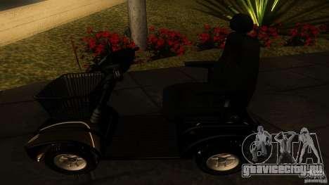 Elektroscooter - Speedy для GTA San Andreas вид справа