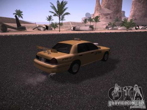 Ford Crown Victoria Taxi 2003 для GTA San Andreas вид сбоку