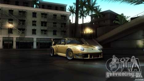 Porsche 993 RWB для GTA San Andreas вид сбоку