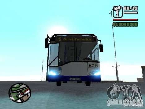 Solaris Urbino 12 для GTA San Andreas вид сзади